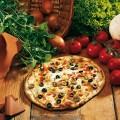 Olivenflammkuchen Mediterran